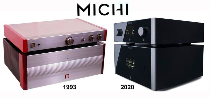 Michi now and then